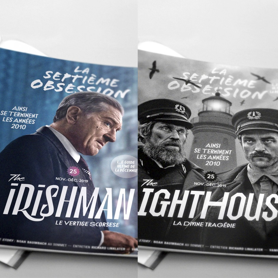 La Septième Obsession N°25 - The Irishman/The Lighthouse