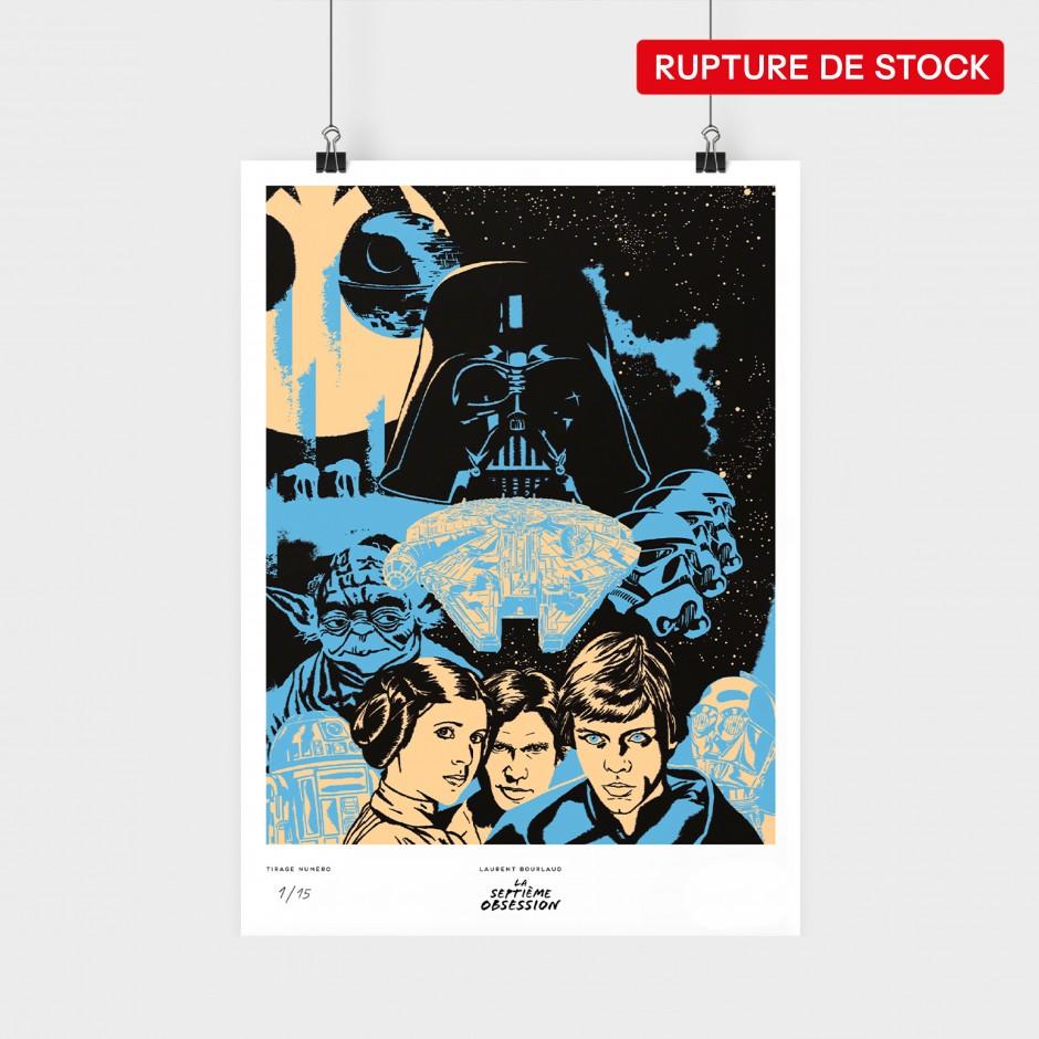 Star Wars Poster (Blue)