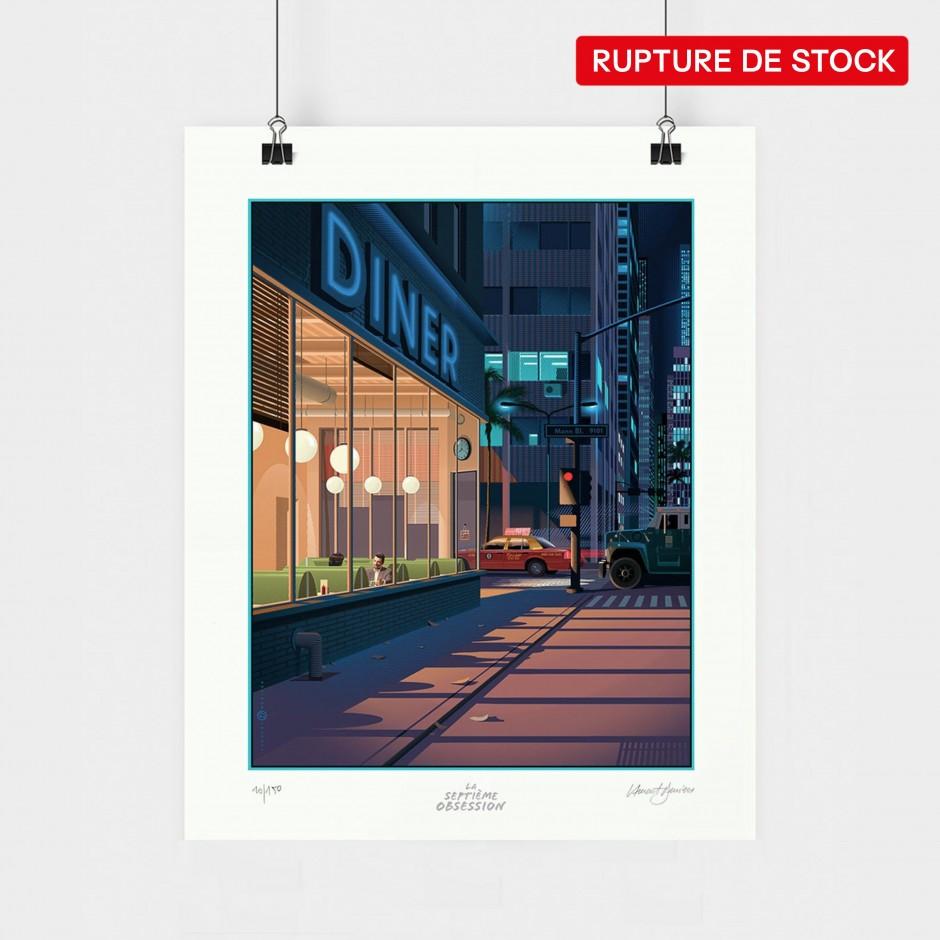 Laurent Durieux x Michael Mann art print