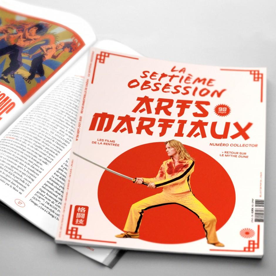 La Septième Obsession N°36 - Arts martiaux