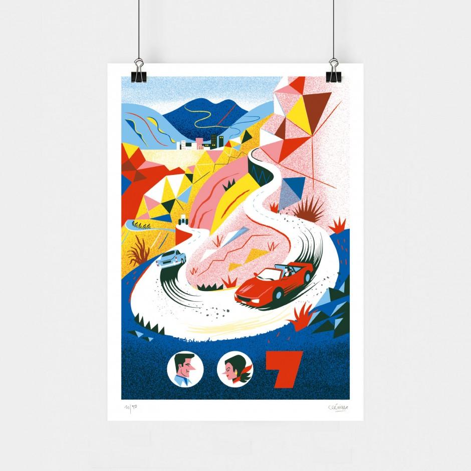 Alexandre Clérisse x James Bond art print (GoldenEye)