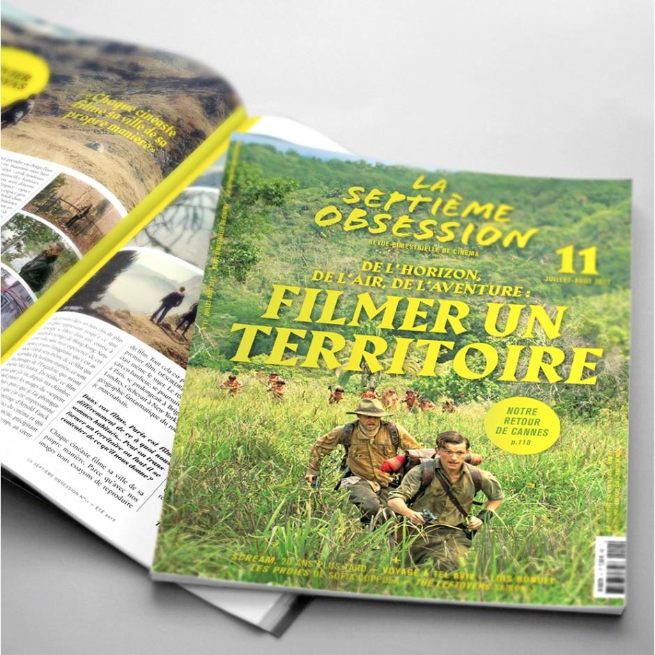 La Septième Obsession 11 - Filming a territory