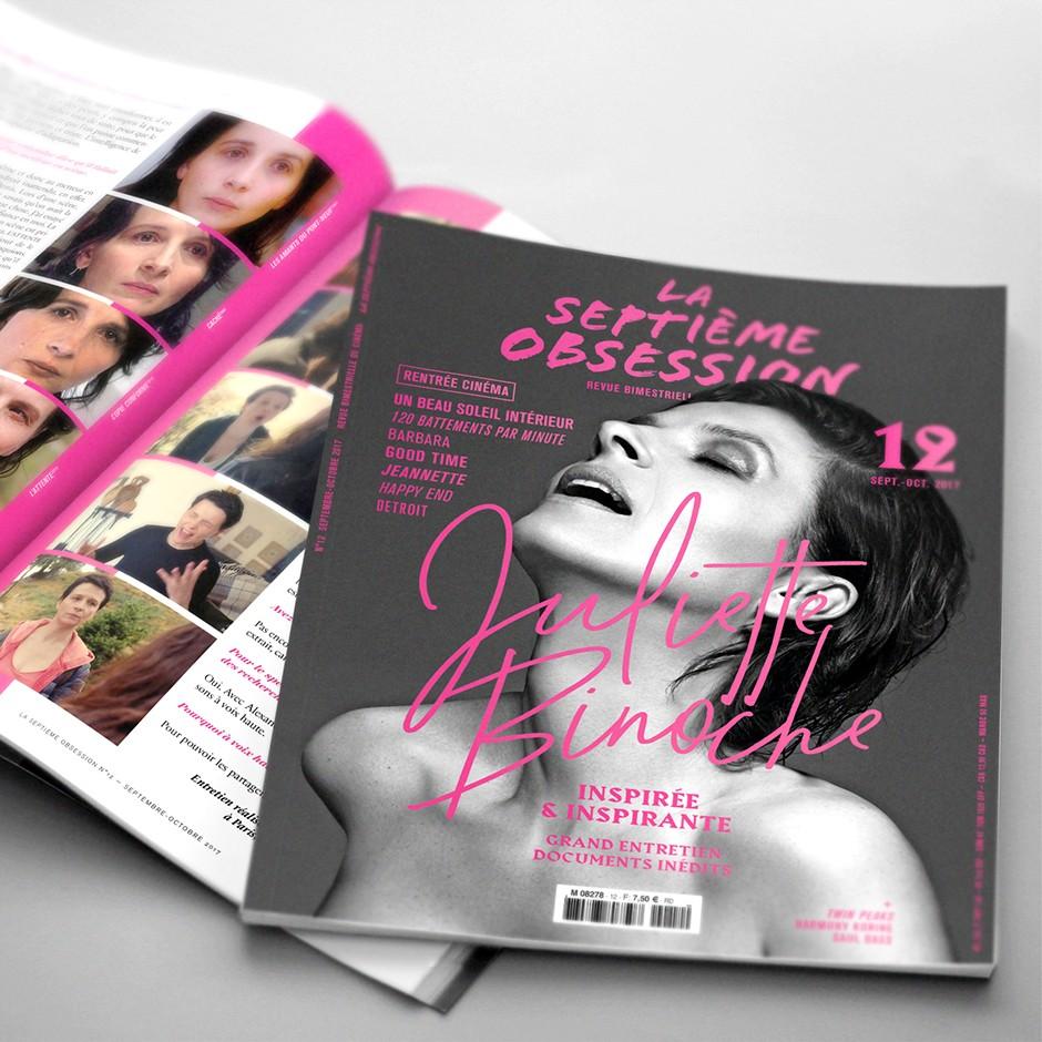 La Septième Obsession N°12 - Juliette Binoche