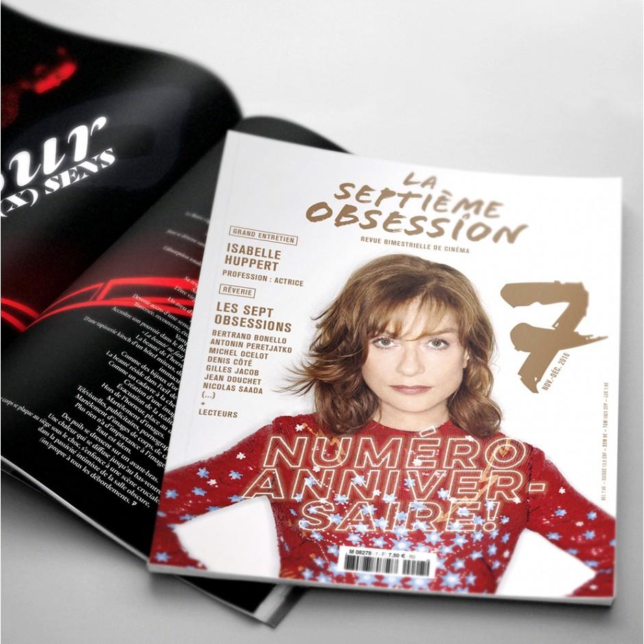 La Septième Obsession N°7 - Isabelle Huppert
