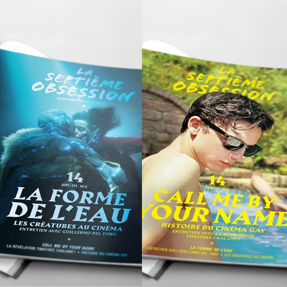 La Septième Obsession N°14 - La Forme de l'eau/Call Me By Your Name