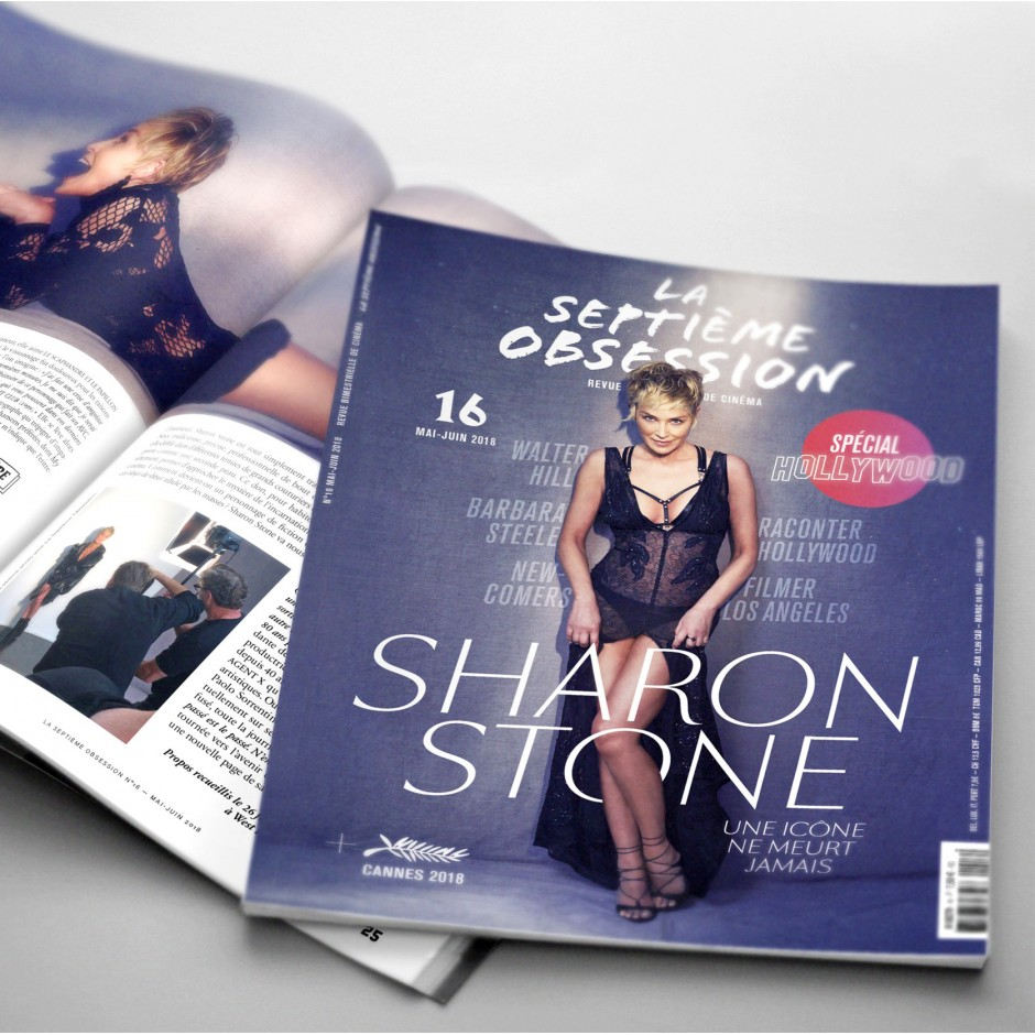 La Septième Obsession 16 - Hollywood issue + Sharon Stone